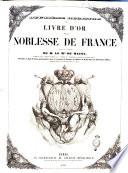 Deuxi  me registre du livre d or de la noblesse de France