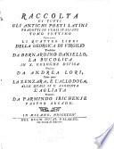 I quattro libri della Georgica di Virgilio