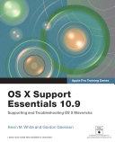 OS X Support Essentials 10 9