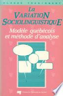 La Variation Sociolinguistique