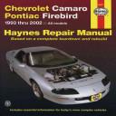 Chevrolet Camaro Pontiac Firebird