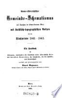 Nieder-österreichischer Gemeinde-Schematismus (mit Ausnahme der Gross-Commune Wien) mit statistisch-topographischen Notizen für die Wahlperiode 1861 - 1863