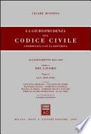 La giurisprudenza sul Codice civile  Coordinata con la dottrina