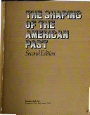 The Shaping of the American Past