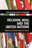Religion Ngos And The United Nations