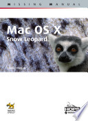 Mac OS X  Snow Leopard  Missing manual