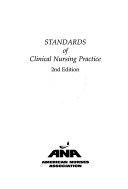 Standards Of Clinical Nursing Practice