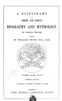 download ebook dictionary of greek and roman biography and mythology by various writers pdf epub