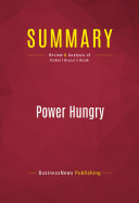 Summary: Power Hungry