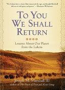 To You We Shall Return