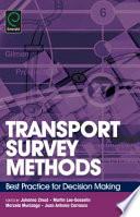 Transport Survey Methods