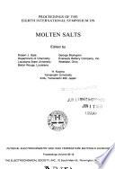 Proceedings of the Eighth International Symposium on Molten Salts