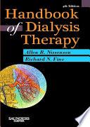 Handbook Of Dialysis Therapy E Book