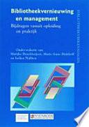 Bibliotheekvernieuwing en management