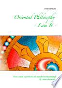 Oriental Philosophy   I am It