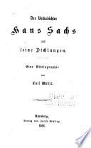 Der Volksdichter Hans Sachs und seine Dichtungen