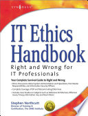 IT Ethics Handbook: