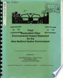 Bedford Harbor Environment Restoration Plan, Acushnet River, Buzzards Bay