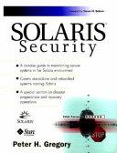 Solaris Security