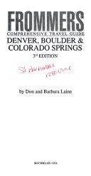 Denver  Boulder   Colorado Springs