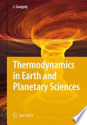 Thermodynamics In Earth And Planetary Sciences book