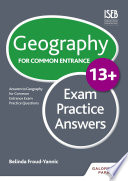 Geography for Common Entrance 13  Exam Practice Answers