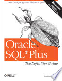 Oracle SQL Plus  The Definitive Guide