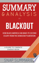 Book Summary   Analysis of Blackout