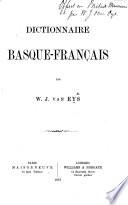 Dictionnaire Basque-Français