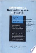 Wirtschaftsintegration und Wirtschaftspolitik in Europa