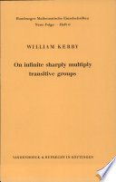 On Infinite Sharply Multiply Transitive Groups