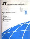 Udenrigsministeriets Tidsskrift