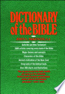 The Dictionary Of The Bible