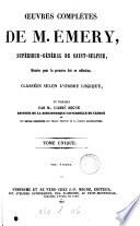 Oeuvres complètes, publ. par l'abbé Migne