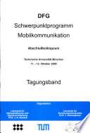 DFG-Schwerpunktprogramm Mobilkommunikation