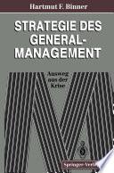Strategie des General-Management