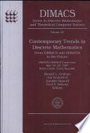 Contemporary Trends in Discrete Mathematics