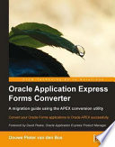 Oracle Application Express Forms Converter