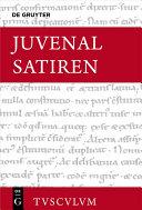 Satiren / Saturae