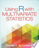 Using R With Multivariate Statistics