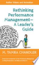 Rethinking Performance Management  Enhanced Executive Edition