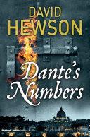 Dante's Numbers Series David Hewson S Detective Novels