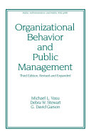 download ebook organizational behavior and public management, revised and expanded pdf epub