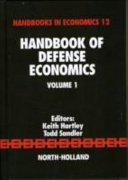 Handbook Of Defense Economics book