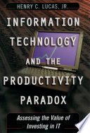 Information Technology and the Productivity Paradox