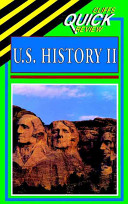 CliffsQuickReview U S  History II