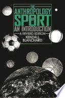 illustration du livre The Anthropology of Sport