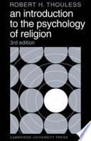 illustration du livre An Introduction to the Psychology of Religion