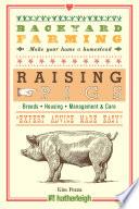 Backyard Farming  Raising Pigs