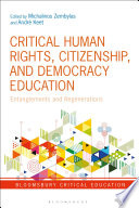 Critical Human Rights  Citizenship  and Democracy Education
